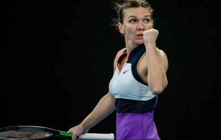 Simona Halep ajunge în sferturile de finală la Australian Open după ce a învins-o pe Iga Swiatek