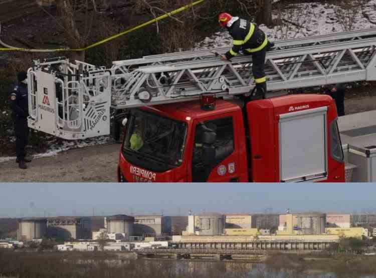 """Nemulțumire în rândul locuitorilor din Cernavodă după ce ISU a decis să mute autospeciala cu scară la Constanța: """"Avem 2 reactoare nucleare și 4 poduri"""""""