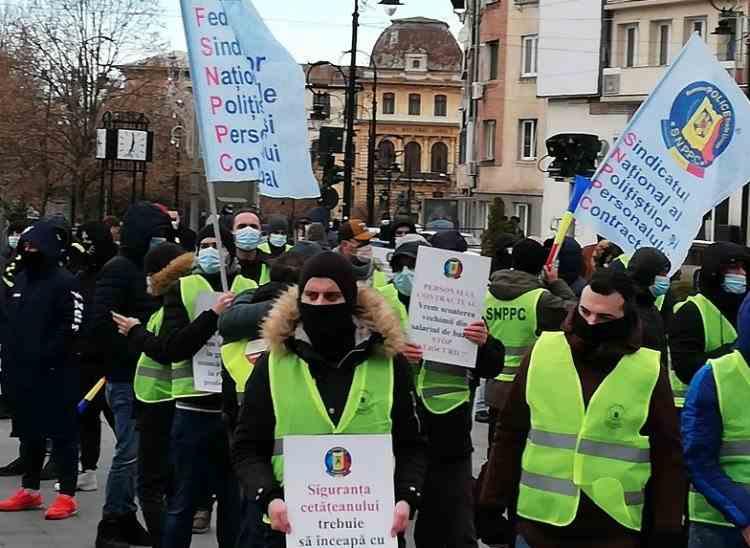 Dezastrul din neaplicarea legii salarizării - Polițiștii începători au aceleași salarii ca polițiștii cu o vechime de 20 de ani