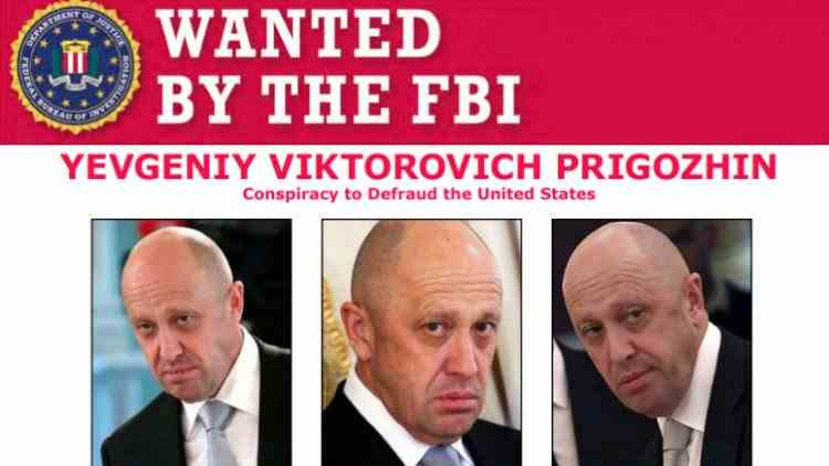 """FBI oferă o recompensă de 250000 de dolari pentru prinderea """"bucătarului lui Putin"""""""