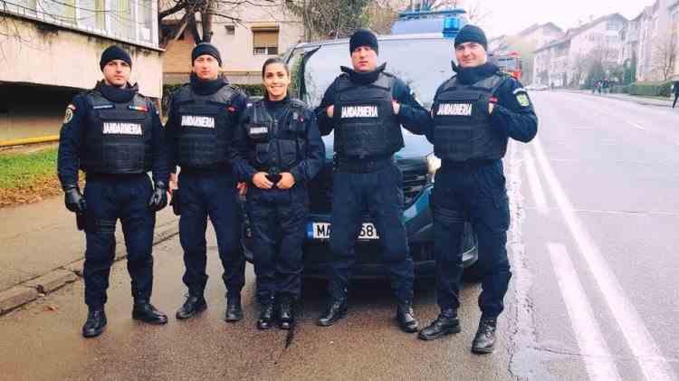 Luptători antitero, coordonați de o femeie - Povestea unei jandarmerițe din Zalău