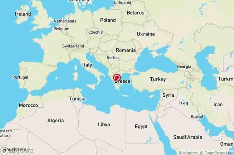 Cutremur puternic înregistrat în Grecia - Seismul a fost resimțit în jumătate de țară