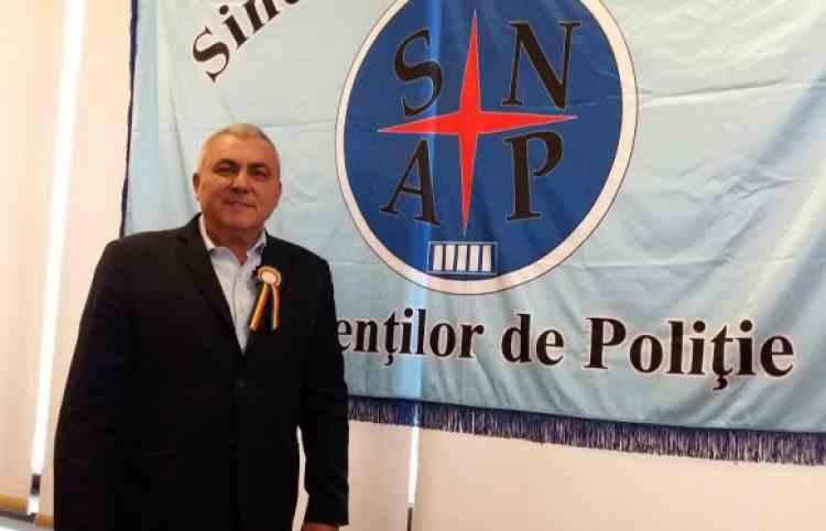 Președintele SNAP, un fost polițist cu dosar penal, a recunoscut că nu el este cel care ia deciziile în cadrul sindicatului