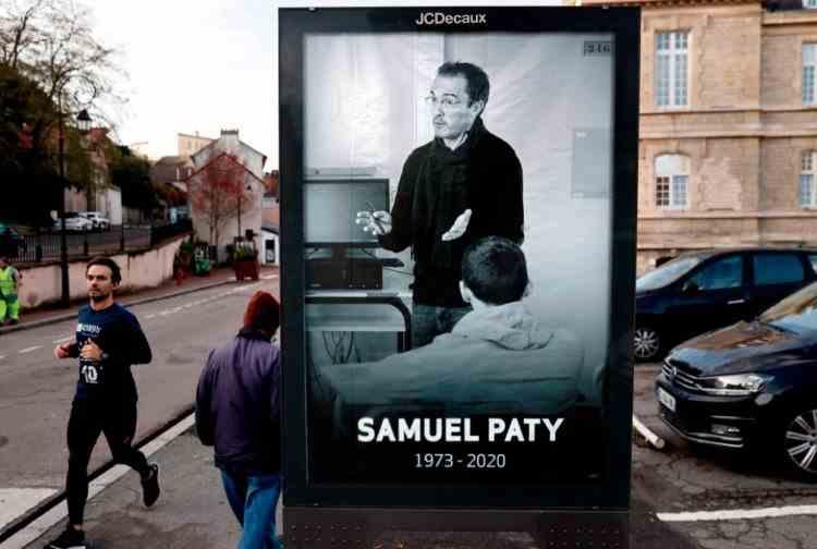 Eleva de la care a pornit campania de denigrare a profesorului decapitat în Franța a recunoscut că a mințit