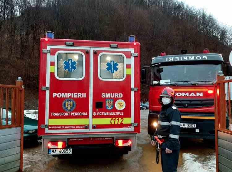 Zeci de pacienți au fost evacuați după ce un incendiu a izbucnic la Spitalul de Psihiatrie din Cavnic