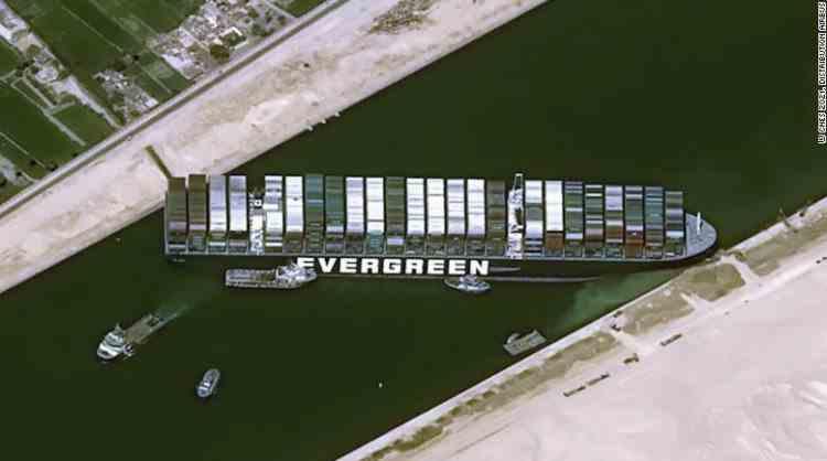 Consecințele blocării Canalului Suez - Criza poate afecta tot ce se găsește în magazine