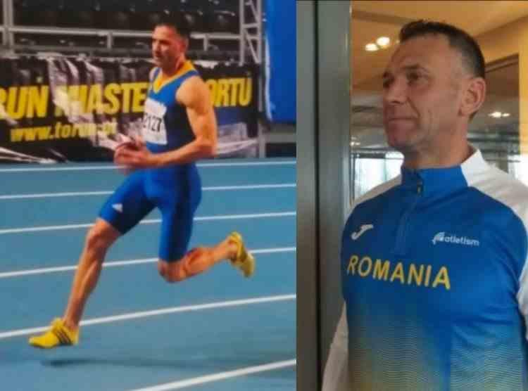 Jandarm brașovean, atlet de top la 53 de ani