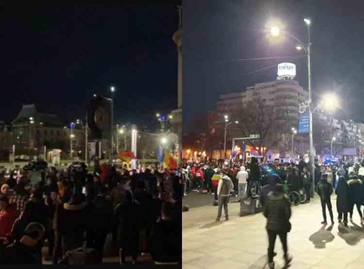 Proteste cu mii de oameni în București și în mai multe orașe din țară, împotriva noilor restricții impuse de autorități - Prefectul Capitalei a anunțat sancțiuni