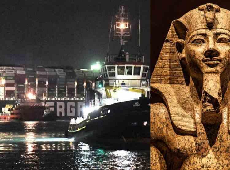 Canalul Suez și blestemul lui Ramses al II-lea - Legătura dintre temutul faraon și tragediile din Egipt