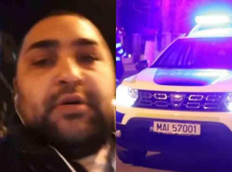 Un polițist din București a fost înjunghiat în curtea secției de Poliție - Agresorul a transmis totul live pe Facebook