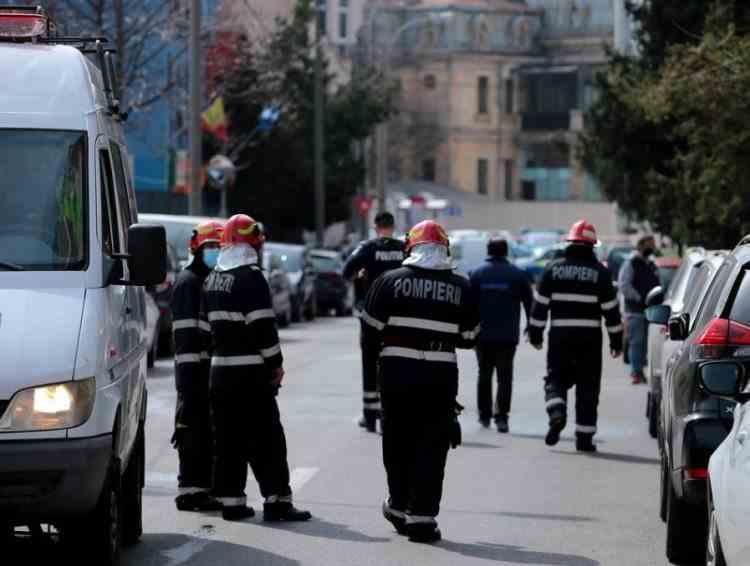 Alertă în București după ce un șofer a spart o țeavă de gaze în apropierea Spitalului Grigore Alexandrescu