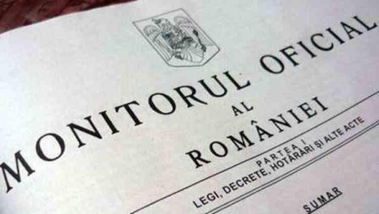 Monitorul Oficial este disponibil gratuit în format PDF începând de astăzi