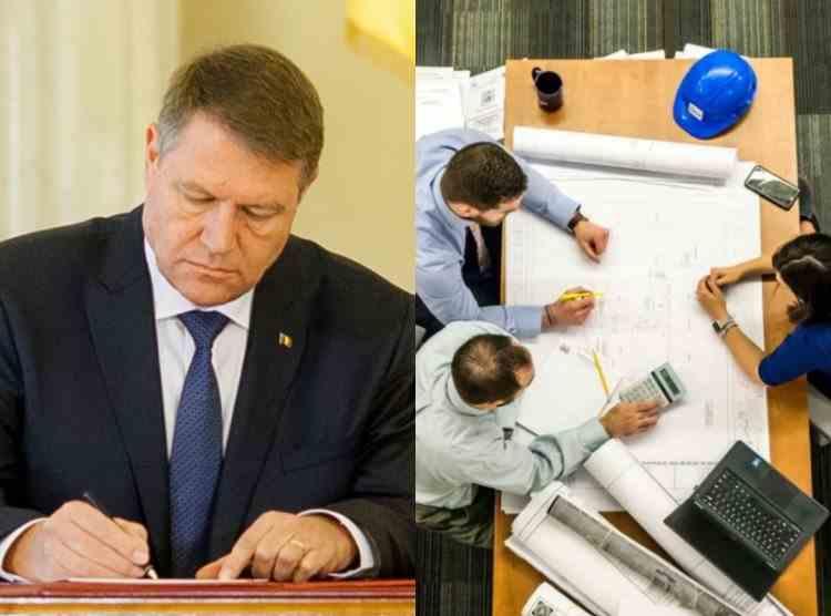 Președintele Iohannis a promulgat legea prin care angajatorii pot reduce programul angajaților cu până la 80%