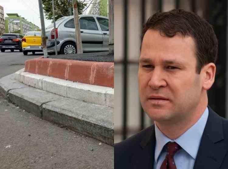 Primarul Sectorului 3, Robert Negoiță, va schimba din nou bordurile: Sunt oribile, am găsit o soluție mai drăguță