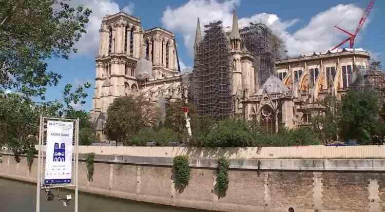Catedrala Notre-Dame din Paris se va redeschide în 2024