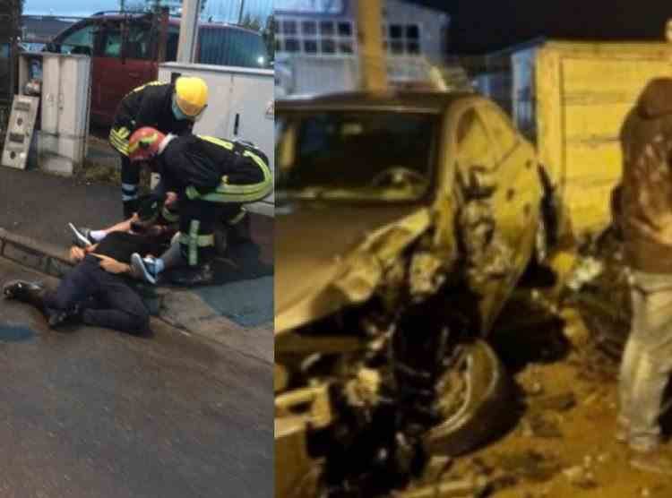 Tânărul care a avariat 12 mașini în Brașov este fiul omului de afaceri Sever Mureșan