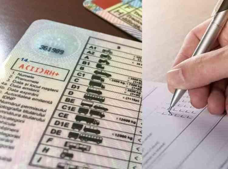 Proiect de lege: Conducătorii auto cu permisul suspendat vor putea susţine testul oriunde în ţară