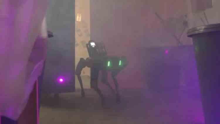 Câinele-robot, cel mai nou membru din echipa polițiștilor antidrog din Olanda
