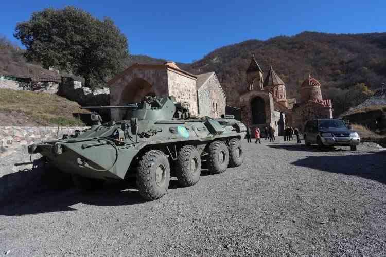 Armata rusă a trimis trupe în două baze din sudul Armeniei