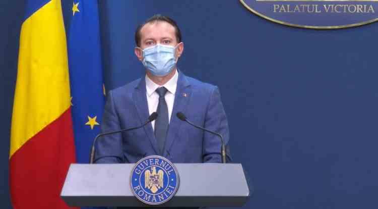 Premierul Cîțu: Dacă Germania are beneficii pentru persoanele vaccinate, cred că şi pentru noi este ok