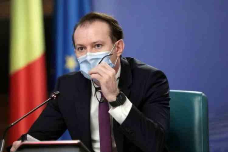 Premierul Cîțu: Avem în vedere relaxarea restricțiilor pentru toată țara
