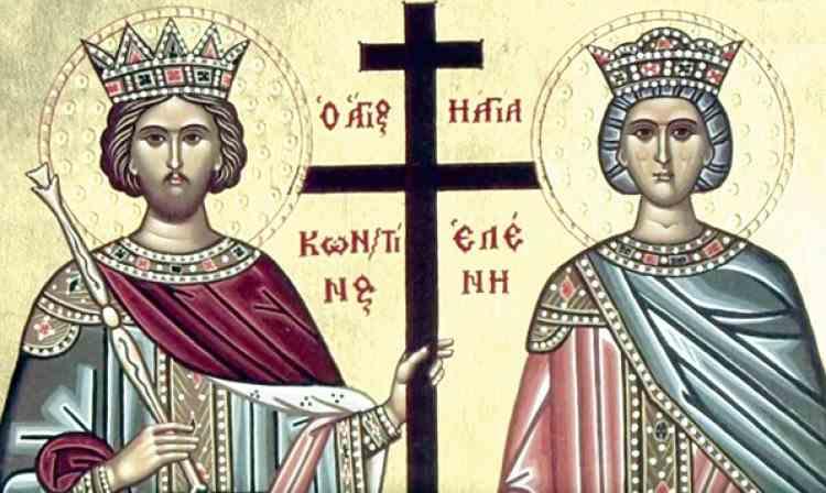 Aproape două milioane de români își sărbătoresc onomastica de ziua Sfinților Constantin și Elena