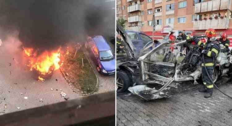Parchetul General a preluat ancheta în cazul exploziei maşinii din Arad - Cercetările vizează infracţiunea de omor