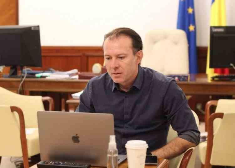 Florin Cîțu și-a anunțat candidatura pentru șefia PNL