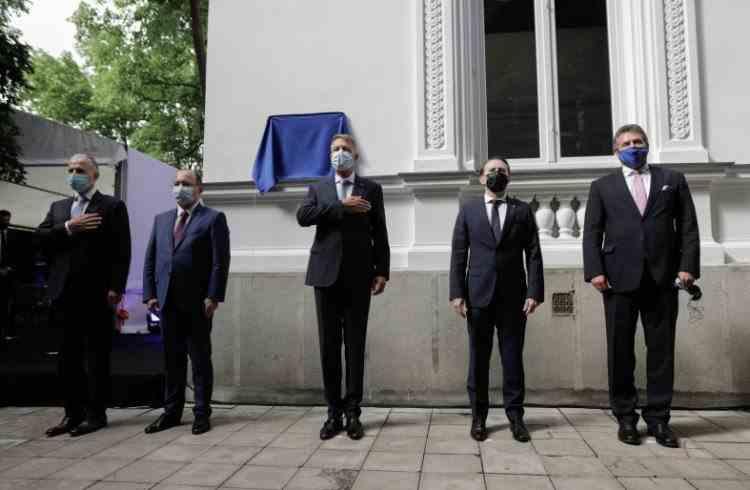 Președintele Iohannis, la inaugurarea sediului Centrului Euro-Atlantic pentru Reziliență: Acest proiect va aduce valoare adăugată în contextul geopolitic actual