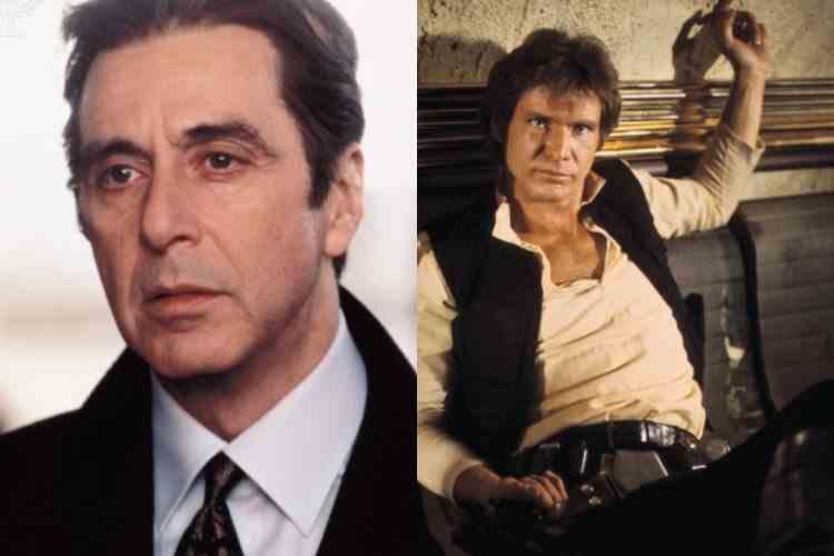 Al Pacino, în rolul lui Han Solo din Războiul Stelelor