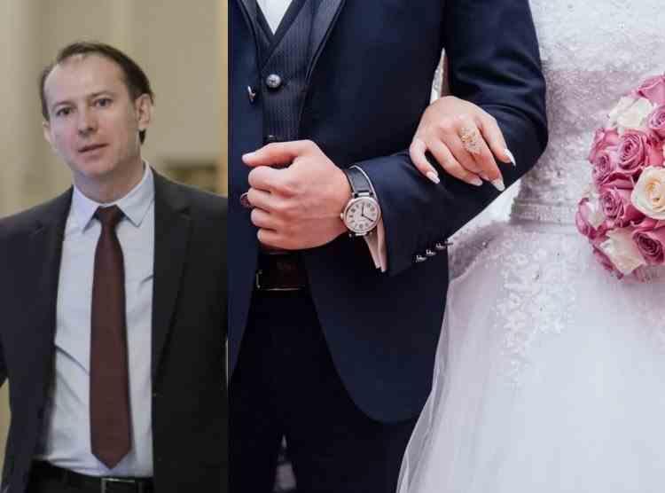 Premierul Cîțu: Nunțile și botezurile se pot desfășura până la două noaptea
