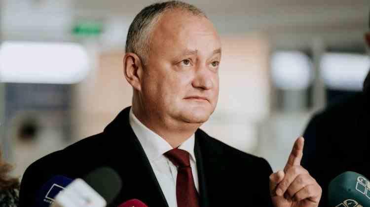Fostul președinte basarabean Igor Dodon negociază cu rușii pentru producerea vaccinului Sputnik V în Republica Moldova