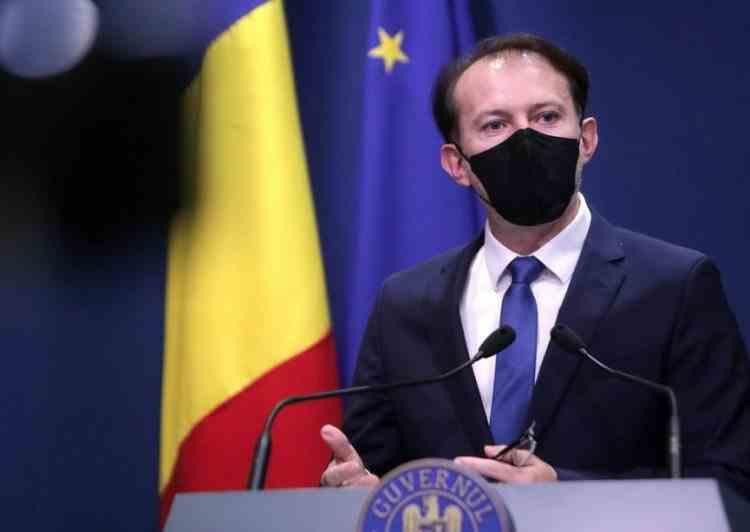 Premierul Cîțu a anunțat prelungirea stării de alertă pentru încă 30 de zile
