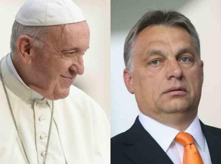 Papa Francisc refuză să se întâlnească cu premierul Ungariei, Viktor Orban, în timpul vizitei oficiale