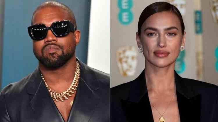 Cel mai nou cuplu din showbiz-ul american: Kanye West și Irina Shayk