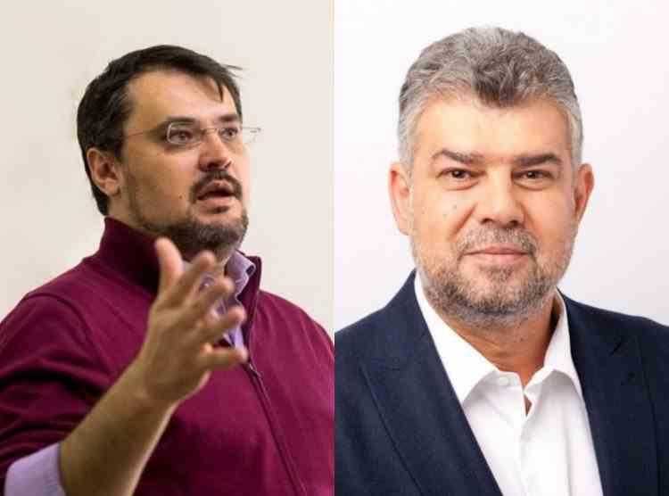 Cristian Ghinea, replică pentru Marcel Ciolacu: Să discutăm cu demisia pe masă
