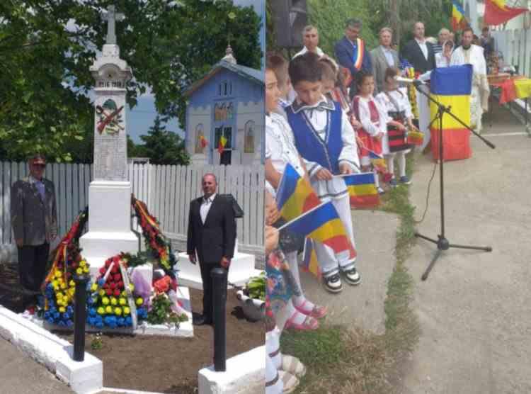 Ziua Eroilor, sărbătorită la Constanța - Ceremoniile la care au participat membrii Asociației Militarilor Veterani și Veteranilor cu Dizabilități
