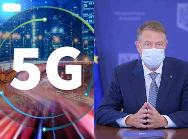 Președintele Iohannis a promulgat legea privind rețelele 5G
