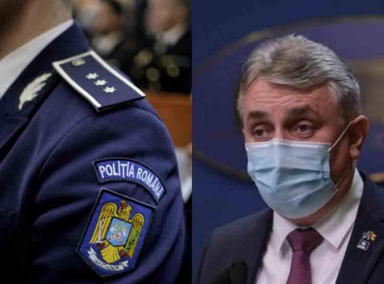 Ministrul de Interne: In Poliţia Română, din 4800 de posturi de conducere, 1380 sunt împuterniciţi