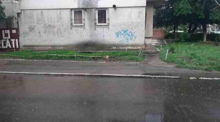 Mai multe explozii au avut loc în subteran pe o stradă din Constanţa, din cauza unor acumulări de gaze