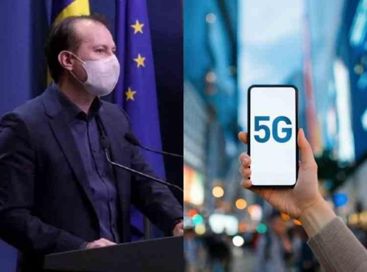 Premierul Cîțu, după promulgarea Legii 5G: Nu va fi luată o decizie împotriva unei companii din China