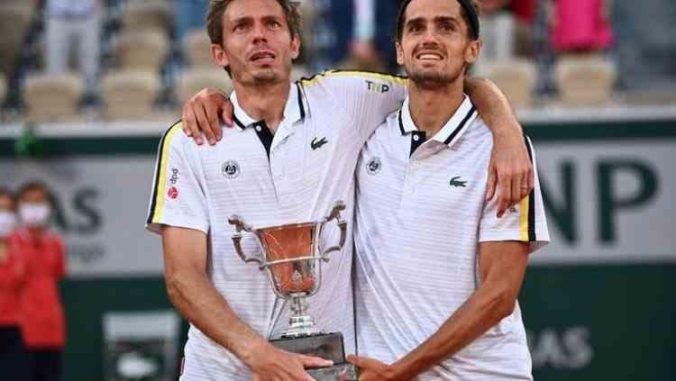Pierre-Hugues Herbert și Nicolas Mahut au câștigat pentru a doua oară proba de dublu masculin a turneului de la Roland Garros