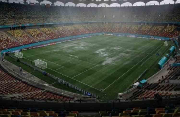 """Acoperișul Arenei Naționale nu va fi tras duminică, în timpul meciului Austria-Macedonia de Nord - """"Se va juca cu ploaie, dacă e ploaie"""""""
