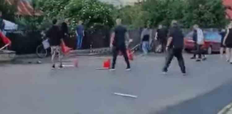 Mai mulți elevi ai Școlii Naționale de Administrație Penitenciară s-au bătut pe o stradă din Târgu Ocna