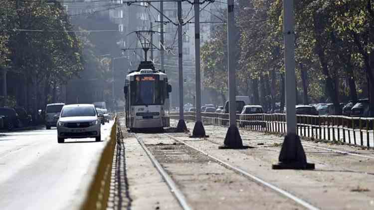 Un tramvai a deraiat în Bucureşti, în zona Arenei Naţionale