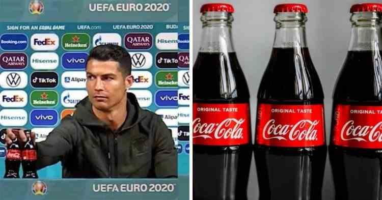 Răspunsul Coca-Cola după gestul lui Cristiano Ronaldo