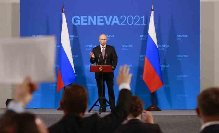 Vladimir Putin, după întâlnirea cu Joe Biden de la Geneva: Aleksei Navalnîi a meritat pedeapsa cu închisoarea