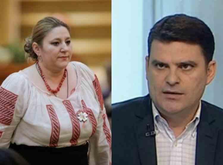 Diana Șoșoacă: Jurnalistul Radu Tudor este membru în consiliul de administrație al SMURD
