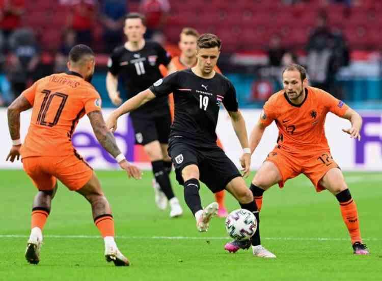 Olanda - Austria 2-0