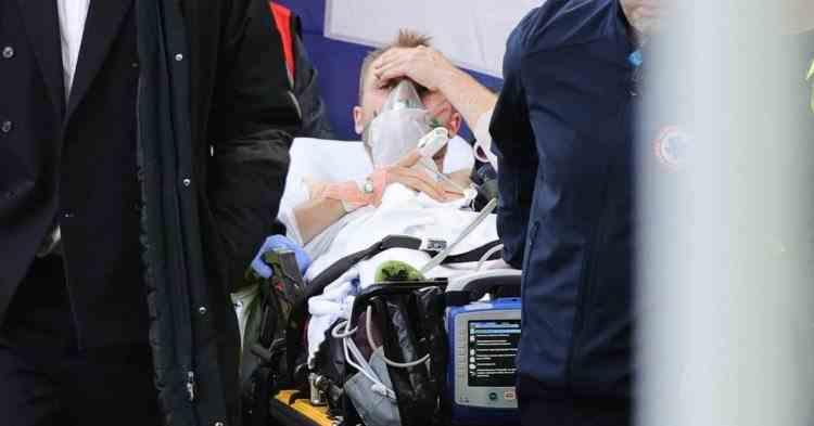 Christian Eriksen a fost operat cu succes la Copenhaga